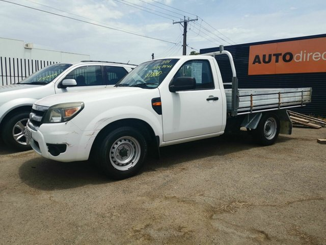 Used Ford Ranger PK XL (4x2), 2009 Ford Ranger PK XL (4x2) White 5 Speed Manual Cab Chassis
