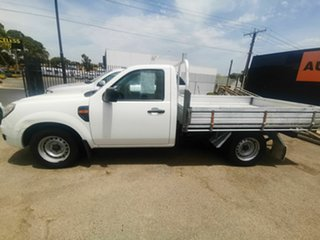 2009 Ford Ranger PK XL (4x2) White 5 Speed Manual Cab Chassis.