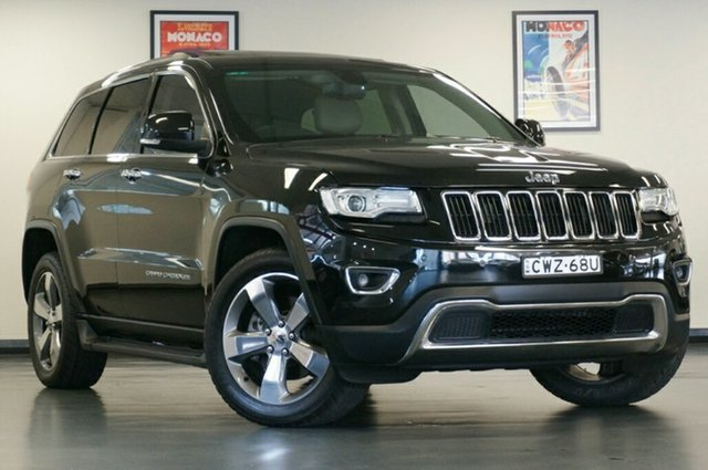 Used Jeep Grand Cherokee WK MY15 Limited, 2015 Jeep Grand Cherokee WK MY15 Limited Black 8 Speed Sports Automatic Wagon