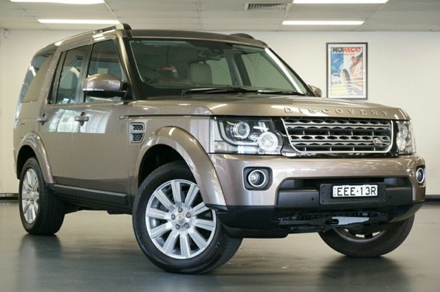 Used Land Rover Discovery Series 4 L319 MY15 TDV6, 2014 Land Rover Discovery Series 4 L319 MY15 TDV6 Bronze 8 Speed Sports Automatic Wagon