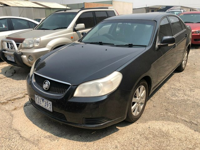 Used Holden Epica EP MY09 CDX, 2008 Holden Epica EP MY09 CDX Black 6 Speed Automatic Sedan