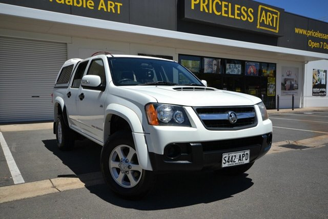 Used Holden Colorado RC MY11 LX-R (4x4), 2012 Holden Colorado RC MY11 LX-R (4x4) White 4 Speed Automatic Crew Cab Pickup