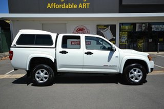 2012 Holden Colorado RC MY11 LX-R (4x4) White 4 Speed Automatic Crew Cab Pickup.