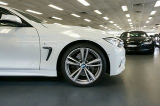 2015 BMW 4 Series F36 428i Gran Coupe M Sport White 8 Speed Sports Automatic Hatchback