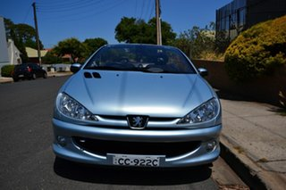 2006 Peugeot 206 CC Silver 5 Speed Manual Cabriolet
