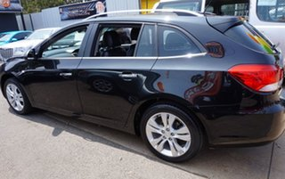 2014 Holden Cruze JH Series II MY14 CDX Sportwagon Black 6 Speed Sports Automatic Wagon.