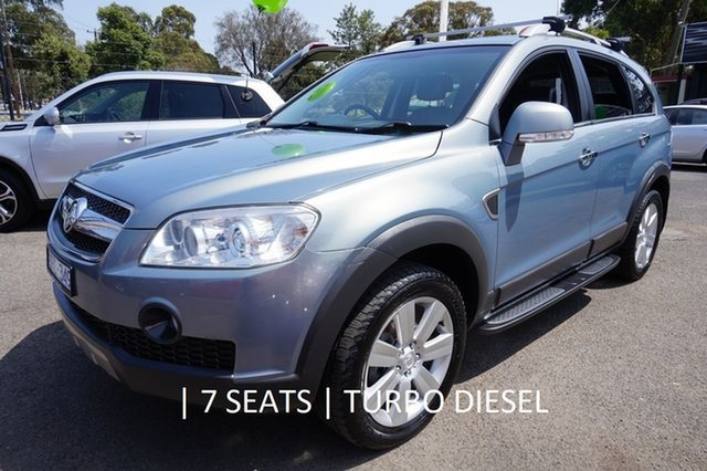Used Holden Captiva CG MY09 LX AWD, 2009 Holden Captiva CG MY09 LX AWD Nitrate 5 Speed Sports Automatic Wagon