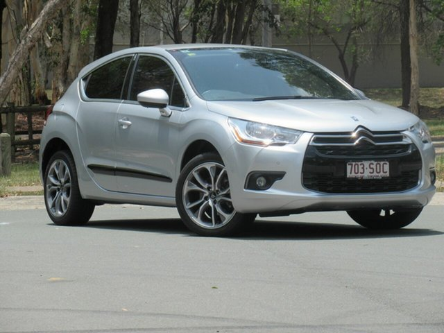 Used Citroen DS4 F7 DStyle EGS, 2012 Citroen DS4 F7 DStyle EGS Silver 6 Speed Sports Automatic Single Clutch Hatchback