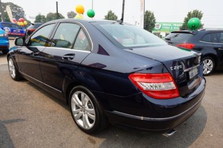 2008 Mercedes-Benz C-Class W204 C220 CDI Avantgarde Tanzanite Blue 5 Speed Automatic Sedan.