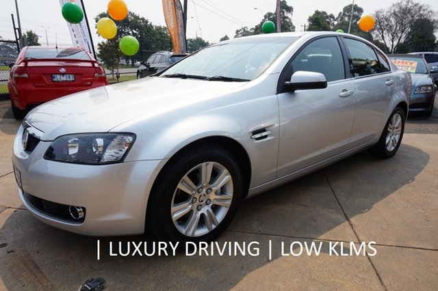 Used Holden Calais VE MY08.5 , 2008 Holden Calais VE MY08.5 Nitrate Silver 5 Speed Sports Automatic Sedan