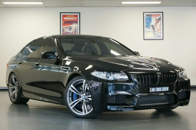 Used BMW M5 F10 MY12 M-DCT, 2012 BMW M5 F10 MY12 M-DCT Black 7 Speed Sports Automatic Dual Clutch Sedan