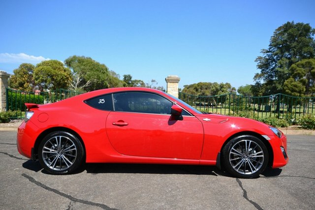 Used Toyota 86 ZN6 MY14 GTS, 2014 Toyota 86 ZN6 MY14 GTS Red 6 Speed Manual Coupe