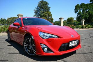 2014 Toyota 86 ZN6 MY14 GTS Red 6 Speed Manual Coupe.