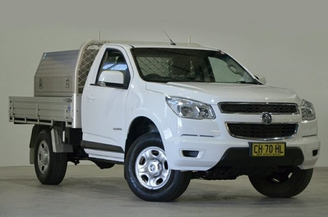 Used Holden Colorado RG MY16 LS 4x2, 2016 Holden Colorado RG MY16 LS 4x2 White 6 Speed Sports Automatic Cab Chassis