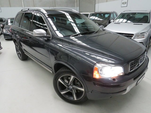 Used Volvo XC90 P28 MY12 D5 Geartronic R-Design, 2012 Volvo XC90 P28 MY12 D5 Geartronic R-Design Savile Grey 6 Speed Sports Automatic Wagon