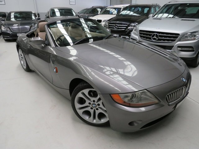Used BMW Z4 E85 Steptronic, 2003 BMW Z4 E85 Steptronic Sterling Grey 5 Speed Sports Automatic Roadster