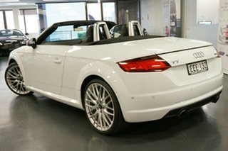 2015 Audi TT FV MY16 S Line S Tronic Quattro White 6 Speed Sports Automatic Dual Clutch Roadster.