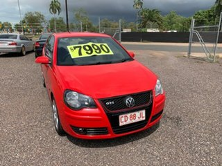 2009 Volkswagen Polo GTi Red 5 Speed Manual Hatchback.