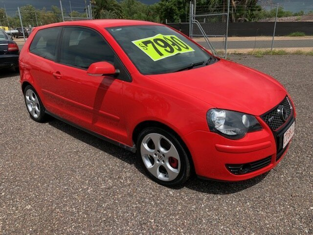 Used Volkswagen Polo  GTi, 2009 Volkswagen Polo GTi Red 5 Speed Manual Hatchback