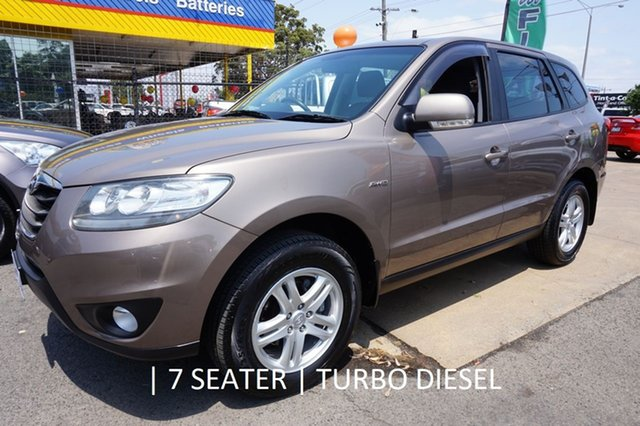 Used Hyundai Santa Fe CM MY10 SLX, 2010 Hyundai Santa Fe CM MY10 SLX Bronze Metallic 6 Speed Sports Automatic Wagon