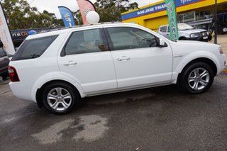 2010 Ford Territory SY MkII TX AWD White 6 Speed Sports Automatic Wagon.