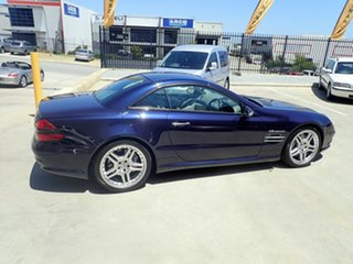 2003 Mercedes-Benz SL55 AMG R230 Macao Blue 5 Speed Auto Touchshift Convertible