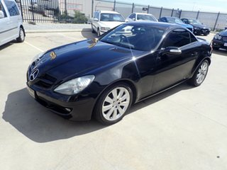 2008 Mercedes-Benz SLK-Class R171 MY08 SLK280 Black Magic 7 Speed Automatic Roadster.