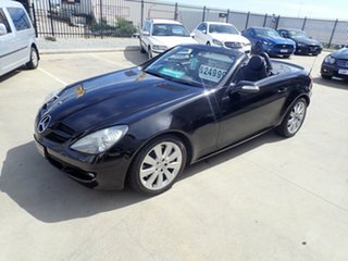 2008 Mercedes-Benz SLK-Class R171 MY08 SLK280 Black Magic 7 Speed Automatic Roadster