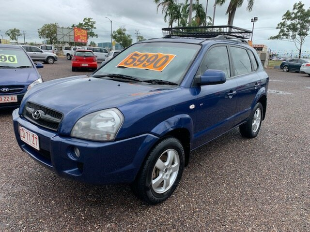 Used Hyundai Tucson  City, 2008 Hyundai Tucson City Blue 5 Speed Manual Wagon