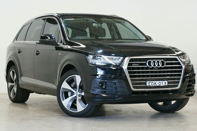 Used Audi Q7 4M MY16 TDI Tiptronic Quattro, 2015 Audi Q7 4M MY16 TDI Tiptronic Quattro Black 8 Speed Sports Automatic Wagon