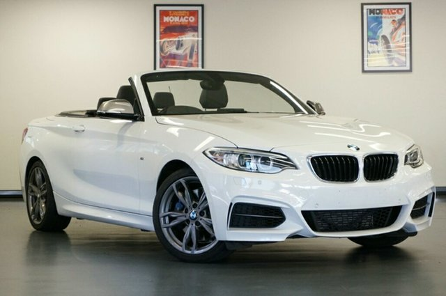 Used BMW 2 Series F23 M235I, 2015 BMW 2 Series F23 M235I White 8 Speed Sports Automatic Convertible