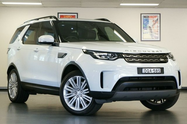 Used Land Rover Discovery Series 5 L462 MY17 Td4 SE, 2017 Land Rover Discovery Series 5 L462 MY17 Td4 SE Yulong White 8 Speed Sports Automatic Wagon