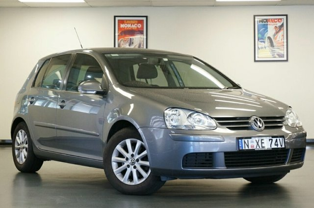 Used Volkswagen Golf V MY09 Edition Tiptronic, 2009 Volkswagen Golf V MY09 Edition Tiptronic Grey 6 Speed Sports Automatic Hatchback