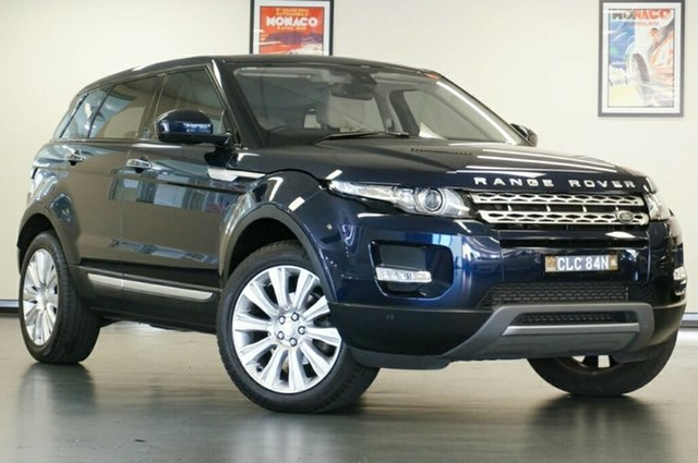 Used Land Rover Range Rover Evoque L538 MY15 SI4 Prestige, 2015 Land Rover Range Rover Evoque L538 MY15 SI4 Prestige Blue 9 Speed Sports Automatic Wagon