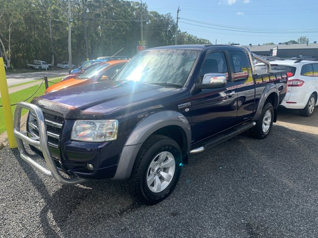 Used Ford Ranger  XLT, 2006 Ford Ranger PJ 4X4 3.0LTR XLT Blue 5 Speed Manual Spacecab