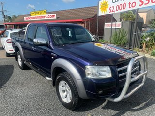 2006 Ford Ranger PJ 4X4 3.0LTR XLT Blue 5 Speed Manual Spacecab.