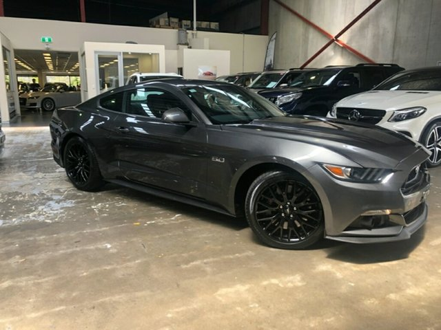 Used Ford Mustang FM 2017MY GT Fastback SelectShift, 2017 Ford Mustang FM 2017MY GT Fastback SelectShift Grey 6 Speed Sports Automatic Fastback