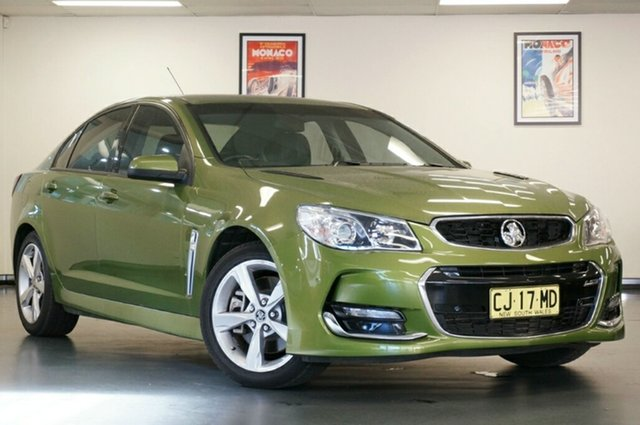Used Holden Commodore VF II MY16 SS, 2016 Holden Commodore VF II MY16 SS Atomic 6 Speed Sports Automatic Sedan