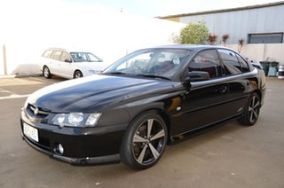 2003 Holden Commodore VY SS Black 4 Speed Automatic Sedan.
