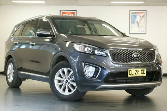 Used Kia Sorento UM MY17 SI, 2017 Kia Sorento UM MY17 SI Grey 6 Speed Sports Automatic Wagon