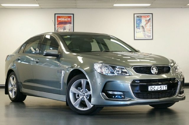 Used Holden Commodore VF II MY16 SV6, 2015 Holden Commodore VF II MY16 SV6 Grey 6 Speed Sports Automatic Sedan