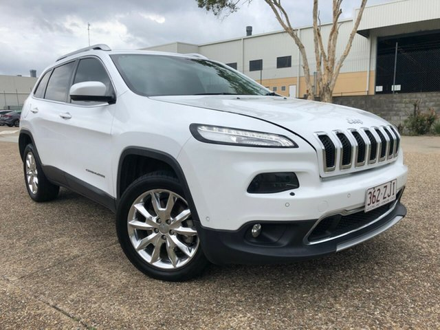 Used Jeep Cherokee KL Limited (4x4), 2014 Jeep Cherokee KL Limited (4x4) White 9 Speed Automatic Wagon