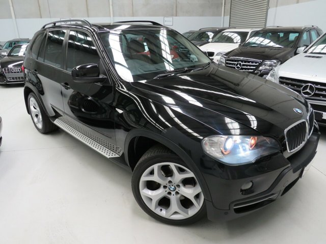 Used BMW X5 E70 MY10 xDrive30d Steptronic, 2010 BMW X5 E70 MY10 xDrive30d Steptronic Black Crystal 6 Speed Sports Automatic Wagon