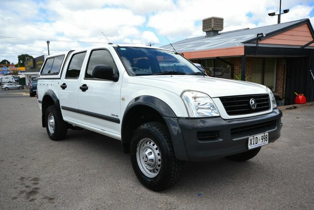 Used Holden Rodeo RA LT, 2004 Holden Rodeo RA LT White 4 Speed Automatic Crew Cab Pickup