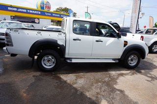 2011 Ford Ranger PK XL Crew Cab 4x2 Hi-Rider Cool White 5 Speed Automatic Utility