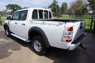 2011 Ford Ranger PK XL Crew Cab 4x2 Hi-Rider Cool White 5 Speed Automatic Utility.