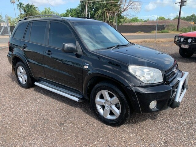 Used Toyota RAV4  Cruiser, 2004 Toyota RAV4 Cruiser Black 5 Speed Manual Wagon