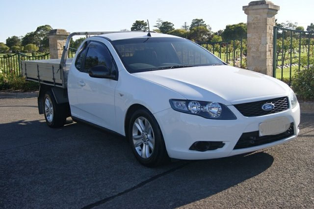 Used Ford Falcon FG (LPG), 2009 Ford Falcon FG (LPG) White 4 Speed Auto Seq Sportshift Utility