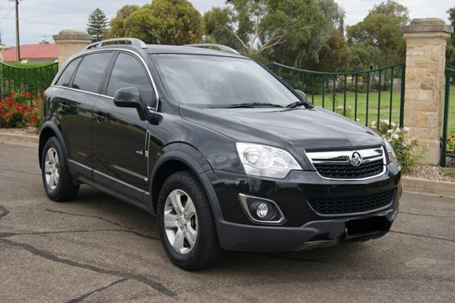 Used Holden Captiva CG Series II 5 (FWD), 2011 Holden Captiva CG Series II 5 (FWD) Black 6 Speed Manual Wagon