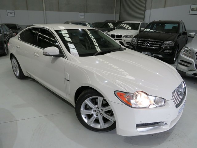 Used Jaguar XF X250 Luxury, 2009 Jaguar XF X250 Luxury Porcelain 6 Speed Sports Automatic Sedan